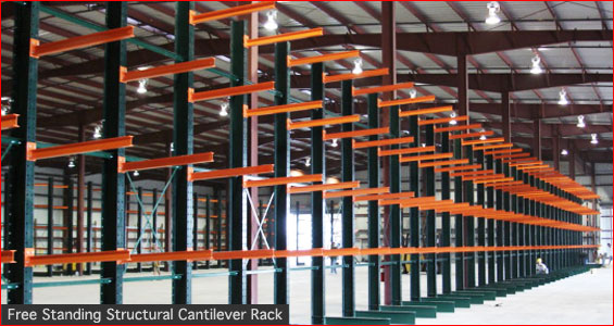 Free Standing Structural Cantilever Rack